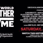 Watch Billie perform live on  @glblctzn 's One World: #TogetherAtHome